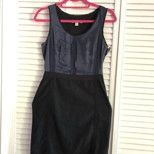 Banana Republic stretch dress black/navy blue